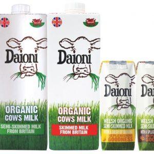 9. Sữa tươi, sữa hạt, bơ Ghee, sữa đặc, Phô Mai HỮU CƠ (DAIONI, ECOMIL, Valley, Horizon,...)